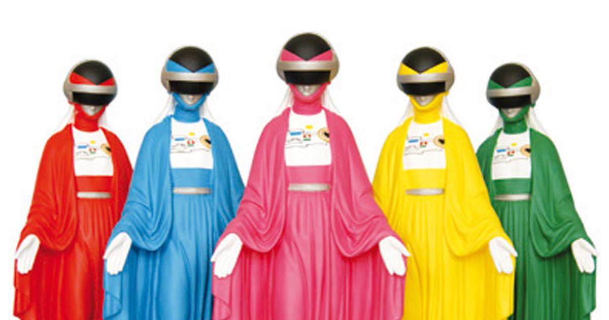 La vierge Marie façon Pop-culture par Soasig Chamaillard