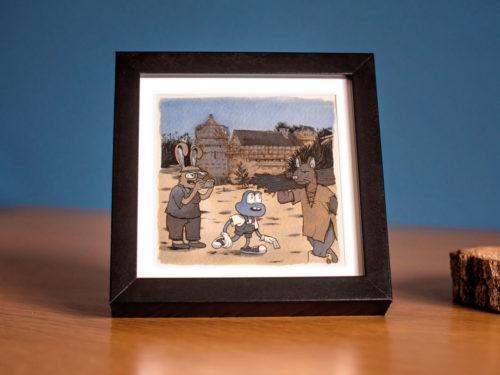 Ciboulette – Le château de Guédelonlon