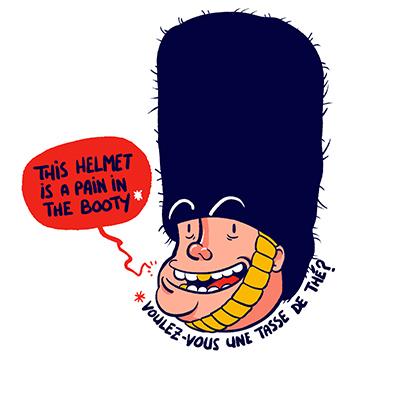 Topito illustration english
