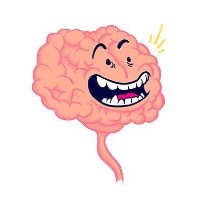 Topito illustration cerveau