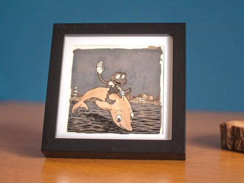 Ciboulette – rodéo dauphin