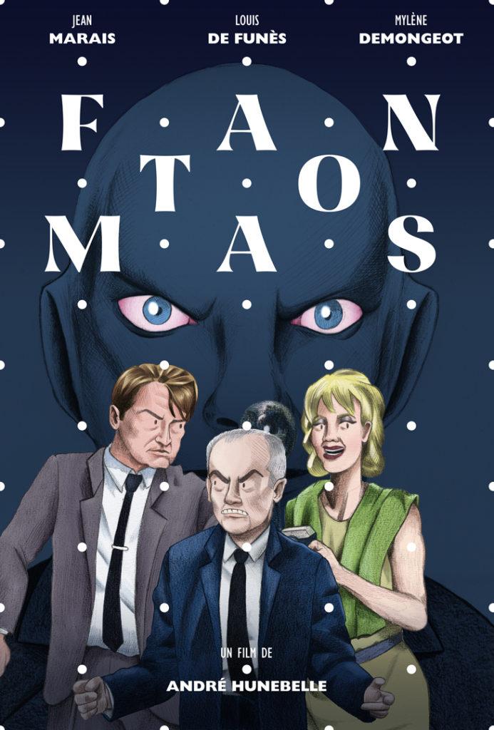 Illustration affiche fantomas