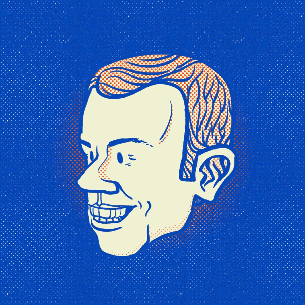Illustration politique Macron