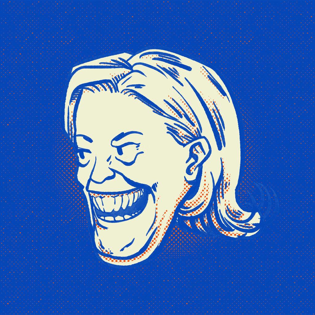 Illustration politique Le Pen