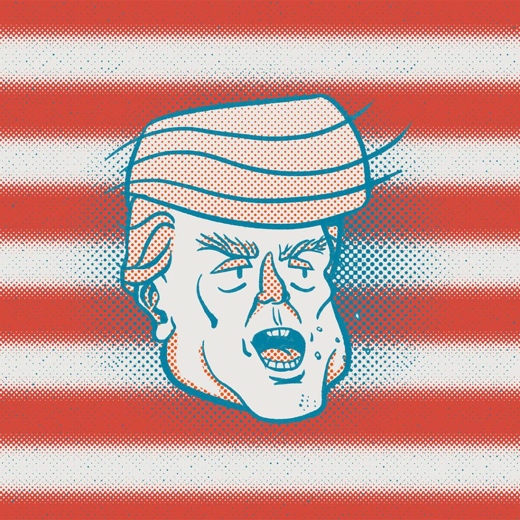 Illustration politique Trump