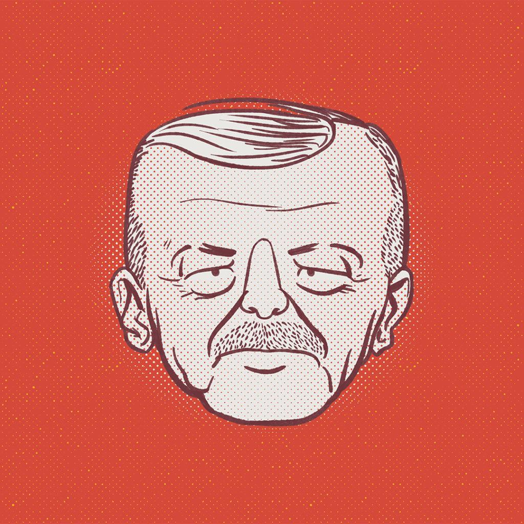 Illustration politique Erdogan