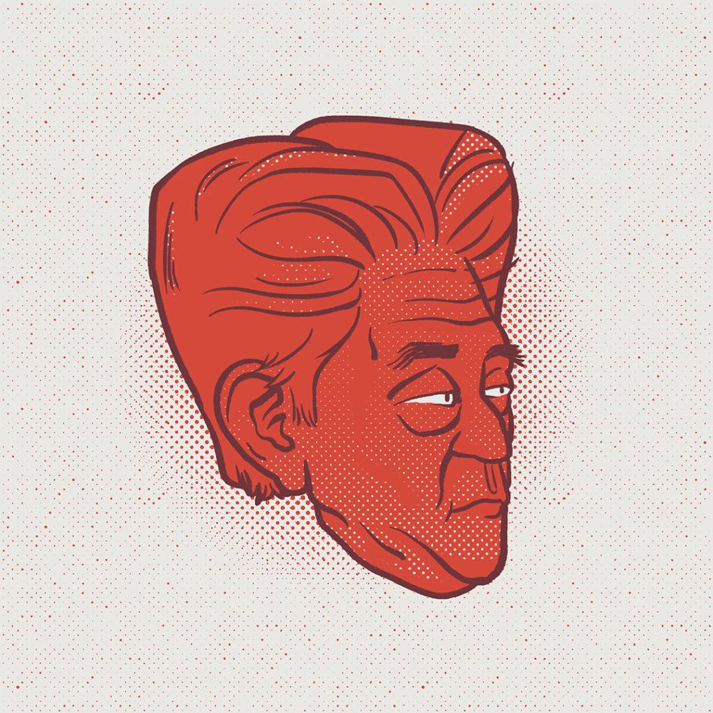 Illustration politique Shinzo Abe
