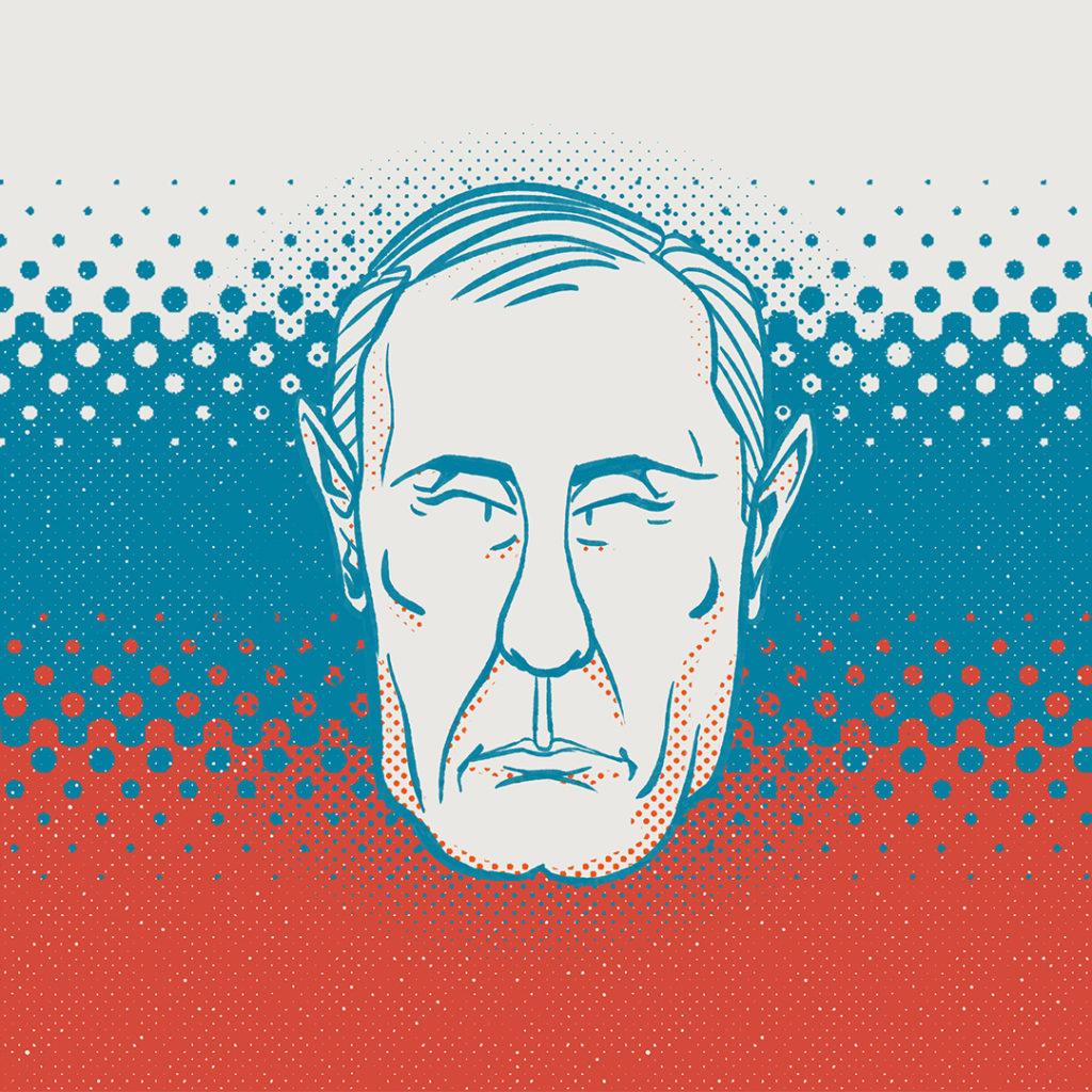 Illustration politique Vladimir Putin