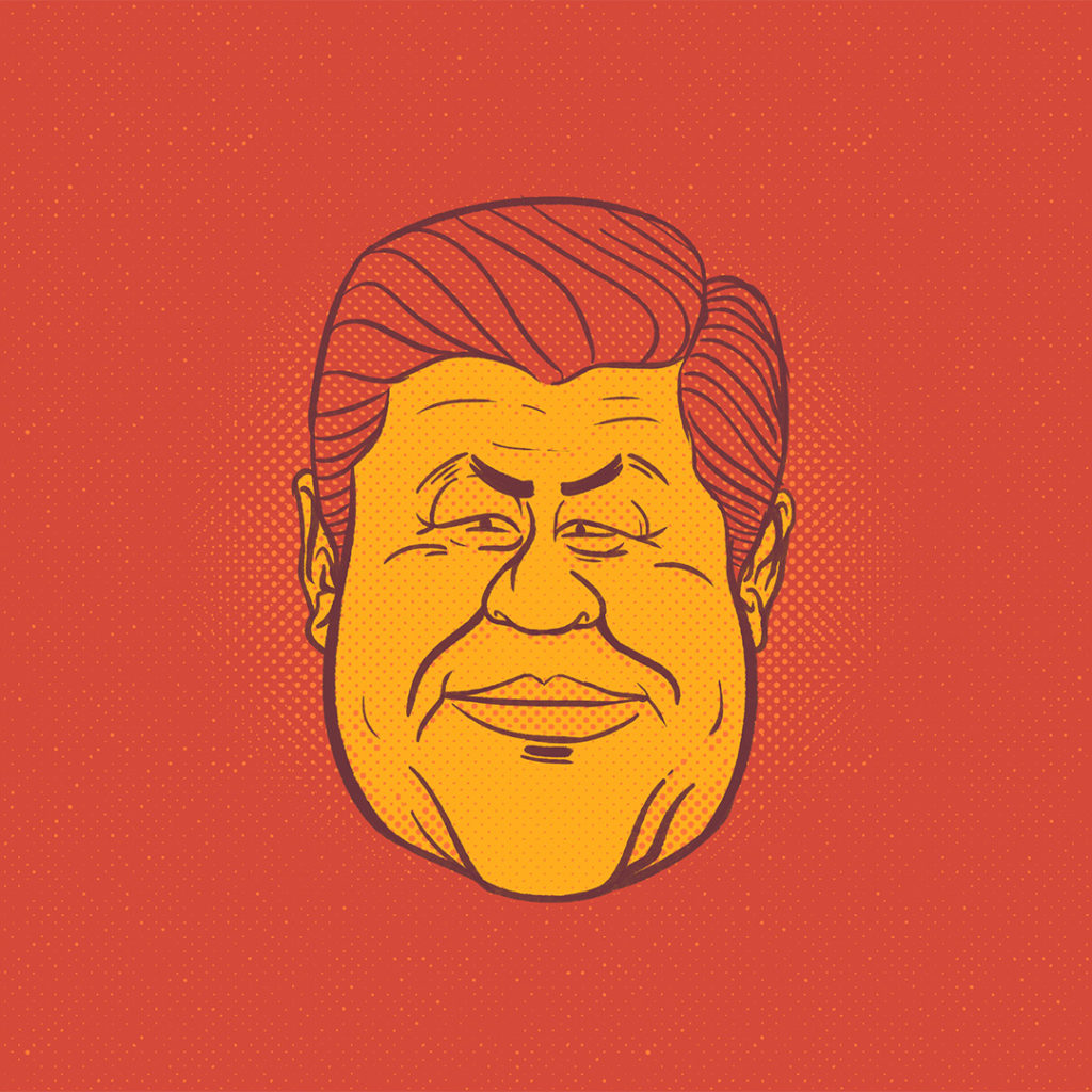 Illustration politique Xi Jin Pin