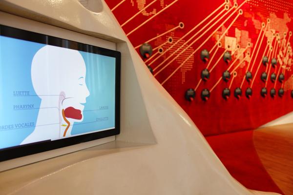 Vidéo scénograpie Musée de l'Homme
