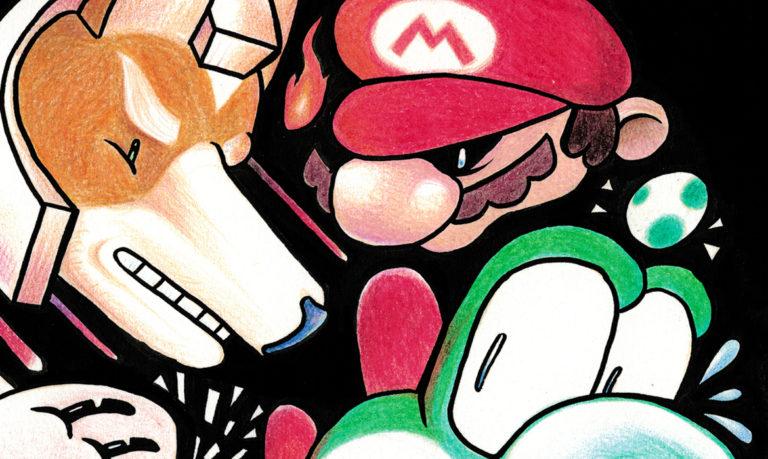 illustration crayons couleur super smash bros