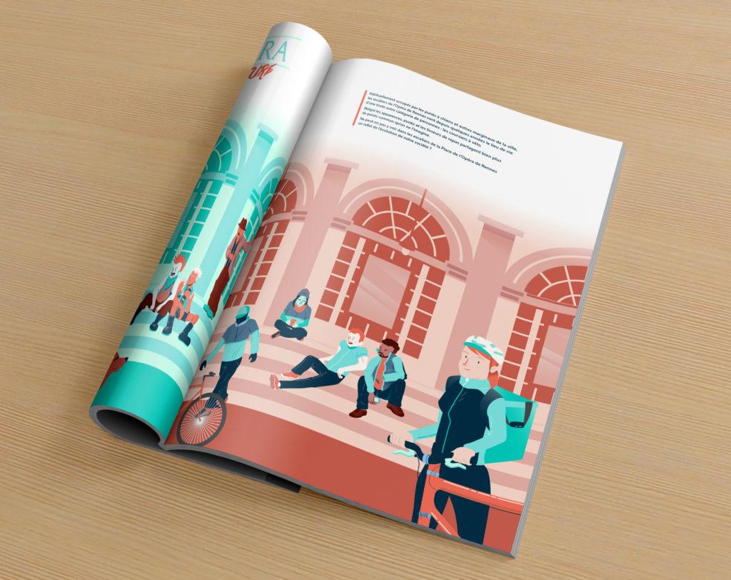 illustration éditoriale Illustration Rennes