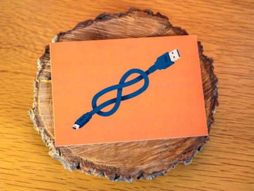 Carte postale – Nœuds marins USB