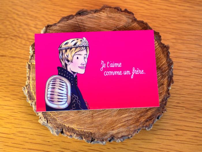 carte postale saint valentin game of thrones - Cersei