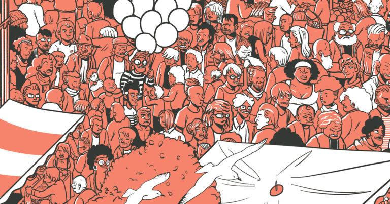 Une la vilaine - illustration marché des Lices Rennes