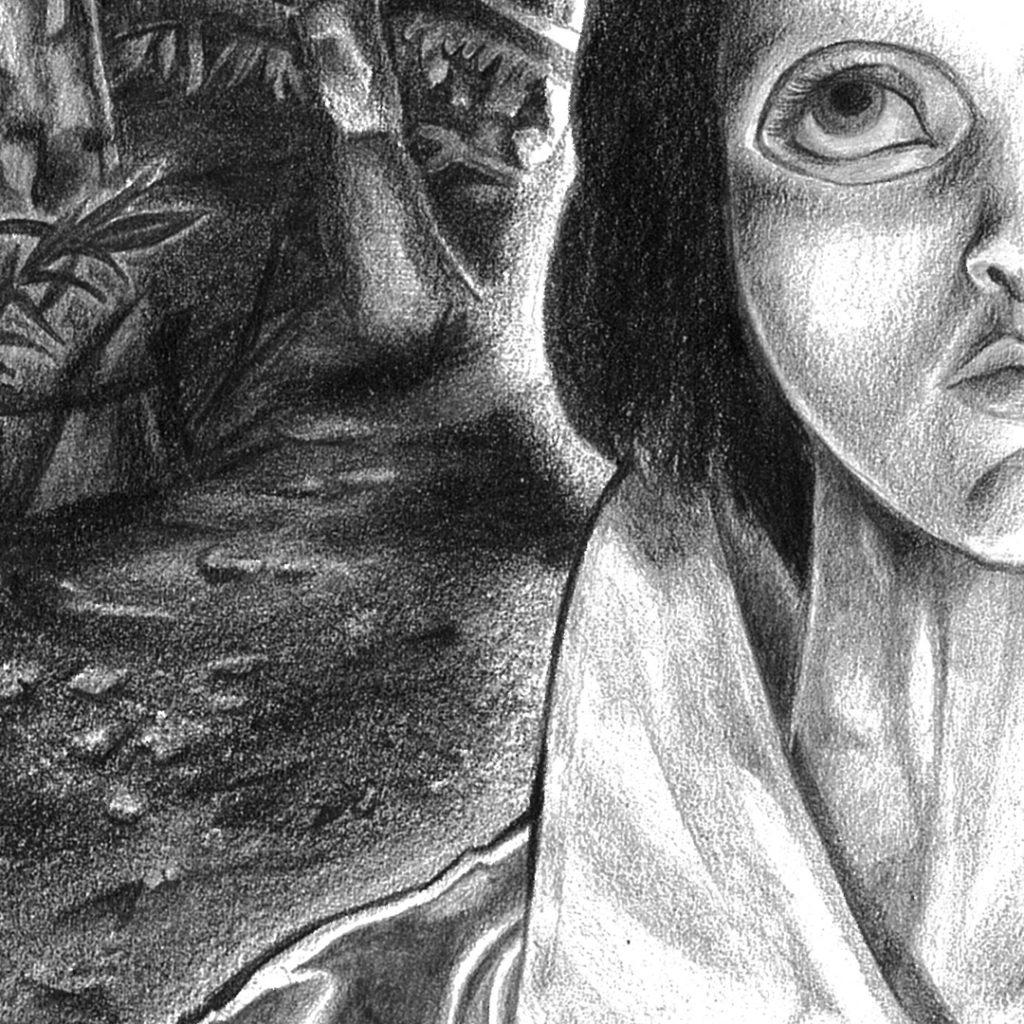 Les yeux sans visage détail